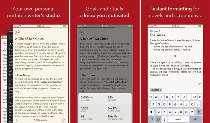 8 best free writing apps for android and ios in 2019