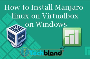 manjaro linux on virtualbox