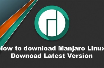 how to download manjaro linux