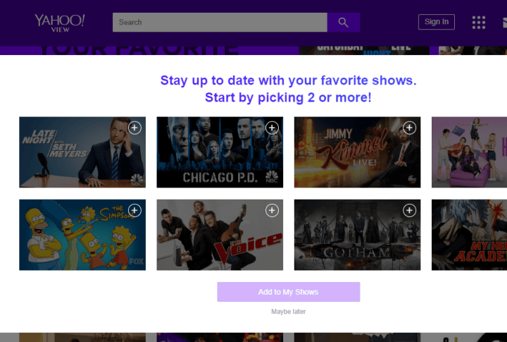 best free websites to watch TV shows online