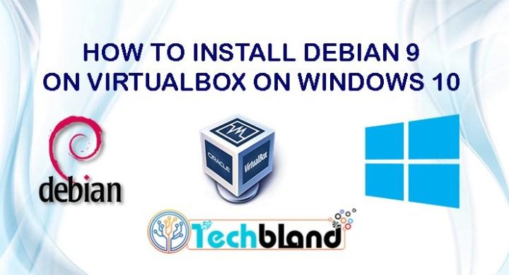 download debian 9 for virtualbox
