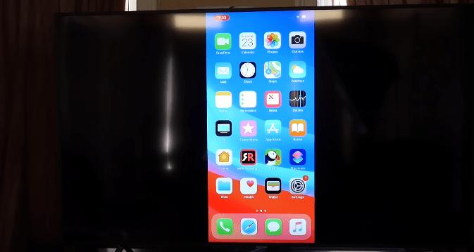 mirror iphone to samsung TV