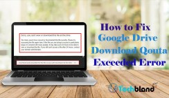 how to fix google drive download qouta exceeded error