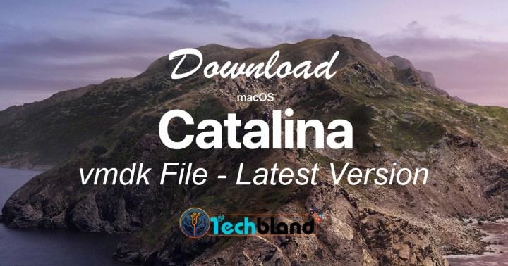 download MacOS Catalina vmdk file