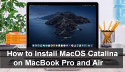 How to Install MacOS Catalina On MacBook Pro and Air