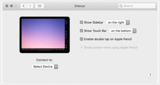 How to Use SideCar Feature on iPadOS 13