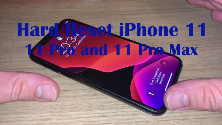 How to Hard Reset iPhone 11, 11 Pro, and 11 Pro Max