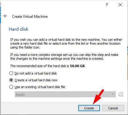 Install Windows 10 in MacOS Catalina