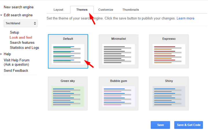 Search Engine Theme