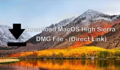 Download MacOS High Sierra dmg File – (Direct Link)