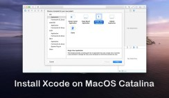 How to Install Xcode on MacOS Catalina 10.15 on Windows?