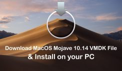 Download MacOS Mojave 10.14 VMDK File & Install on your PC