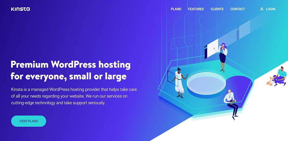 Kinsta Programming Site for Bloggers