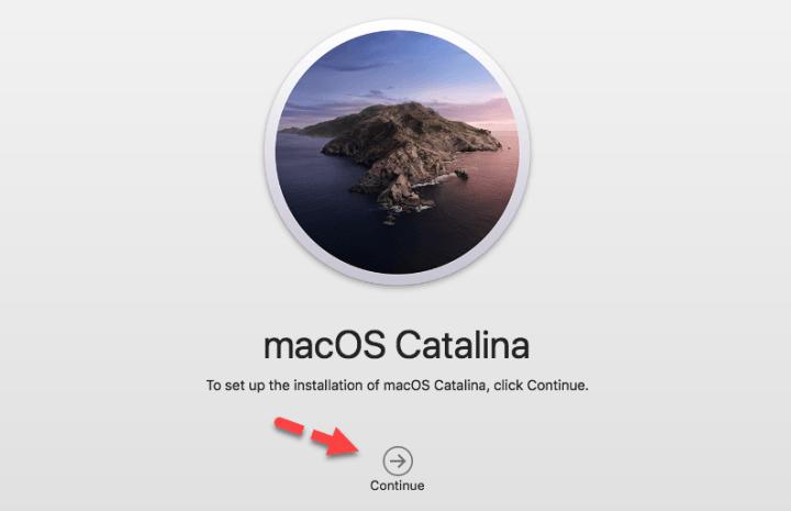 Install MacOS Catalina on MacOS Mojave