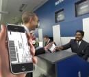 iPhone boarding pass