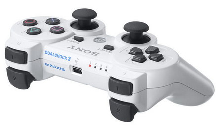 Dualshock3 white