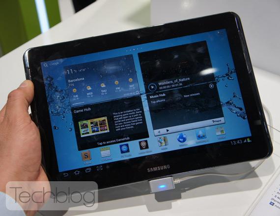 Samsung Galaxy Note 10.1, Τετραπύρηνο βγαίνει πρώτο σε benhmarks για τη GPU