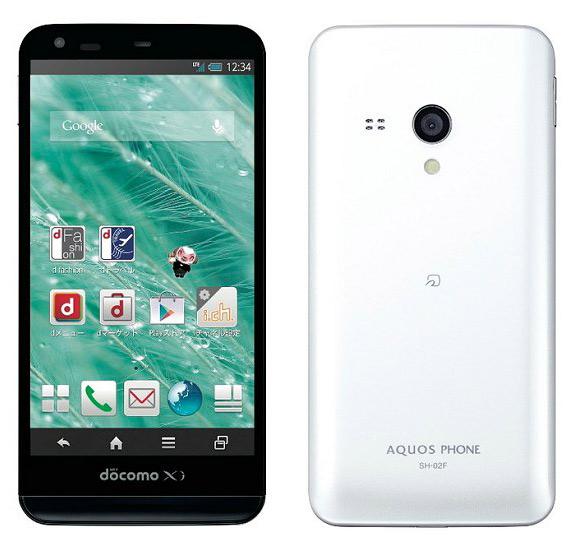 Sharp AQUOS PHONE EX SH-02F