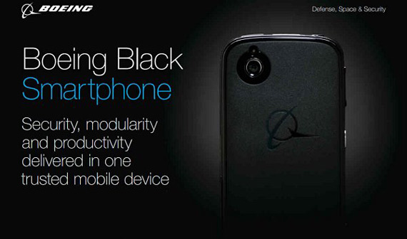Boeing Black Android smartphone