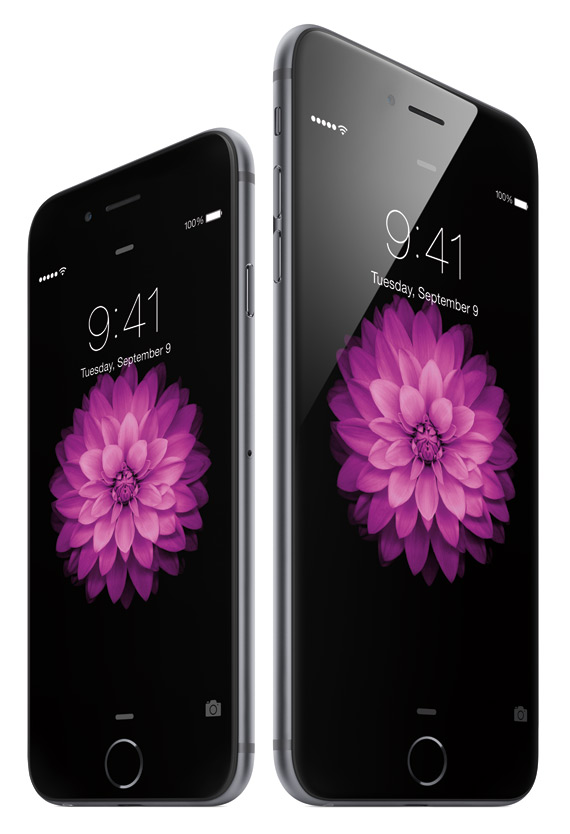 iPhone 6 and iPhone 6 plus revealed official