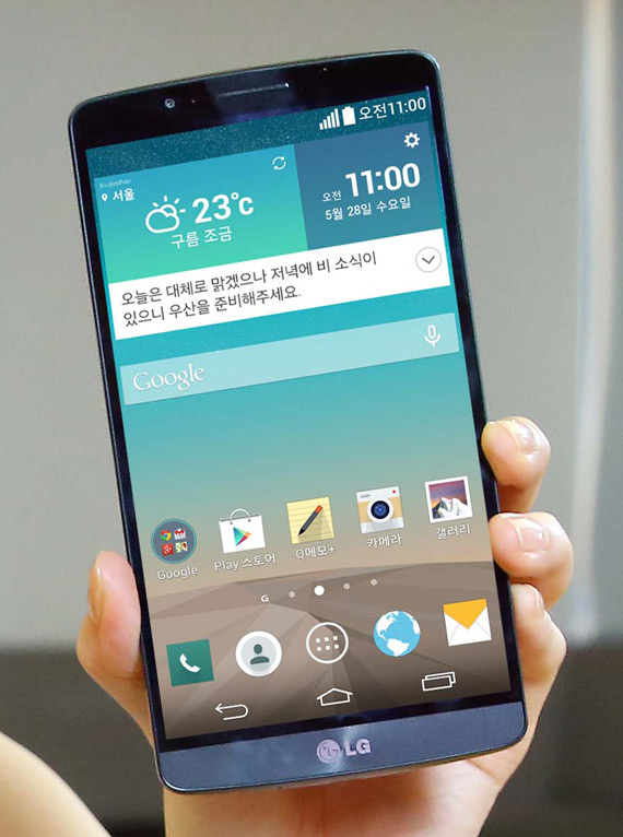 LG G3 Screen revealed