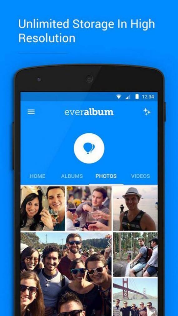Everalbum app