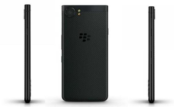 BlackBerry KEYone Black Edition sides
