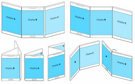 lg foldable display patent