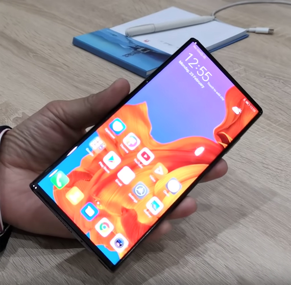 Huawei Mate X hands-on video [MWC 2019]