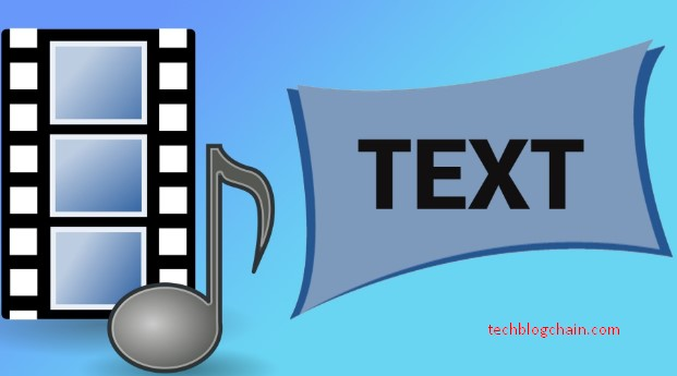 How to convert video to text using google docs