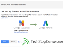 Google Adwords-upgraded location extension @ account level