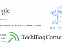 Google Emit 500 Internal Server Error this Morning