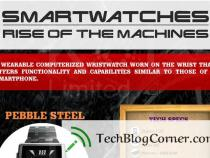 Smartwatches-Rise of the Machines [Info-Graphics]