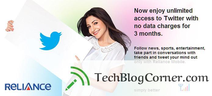 reliance-free-twitter-techblogcorner