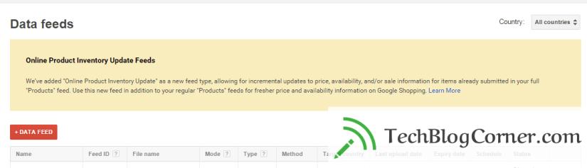 Online-inventory-data-feed-update-Techblogcorner-google-merchant-centre