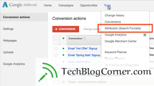 google-adwords-search-funnels-Techblogcorner