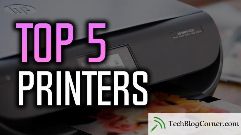 Top-5-printers-techblogcorner