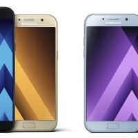 Τα αδιάβροχα Samsung Galaxy A3 / A5 / A7 (2017) είναι εδώ