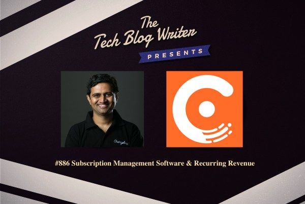 ChargeBee Tech Blog Writer Podcast