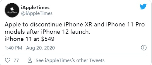 iPhone 11 To Get A Price Cut Of $150, iPhone XR & 11 Pro To Get Discontinued