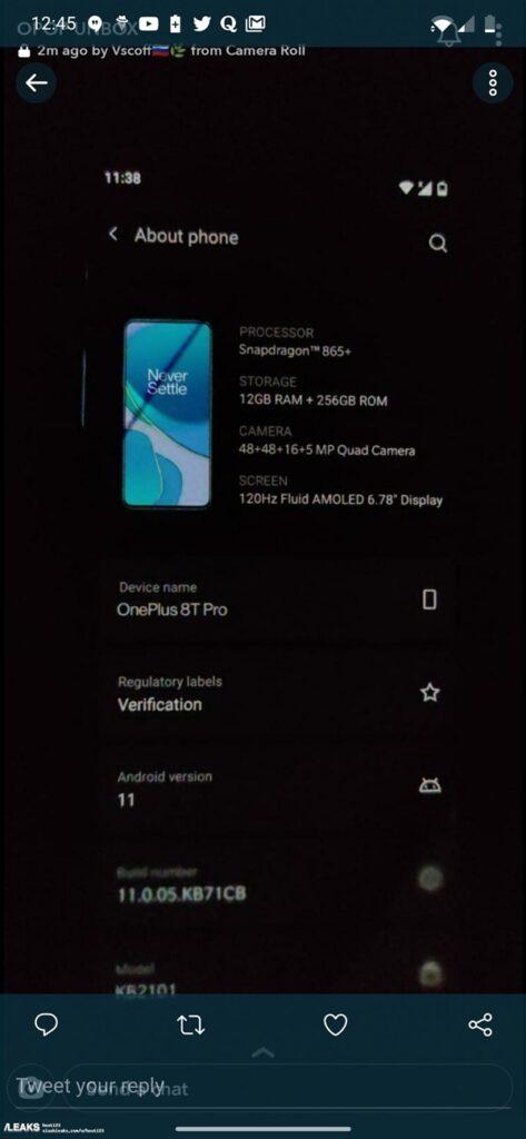 OnePlus 8T Pro