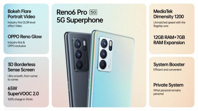 Oppo Reno6 & Reno6 Pro