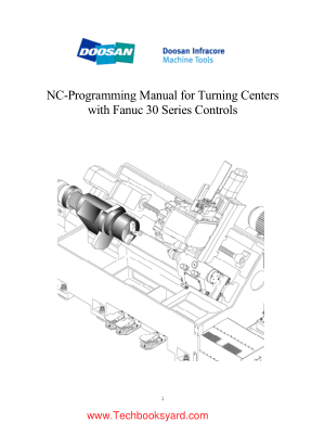 NC Programming Manual for Turning Centers with Fanuc 30