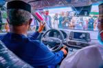 Vice President Osinbajo Test Drives Made-in-Nigeria Electric Car