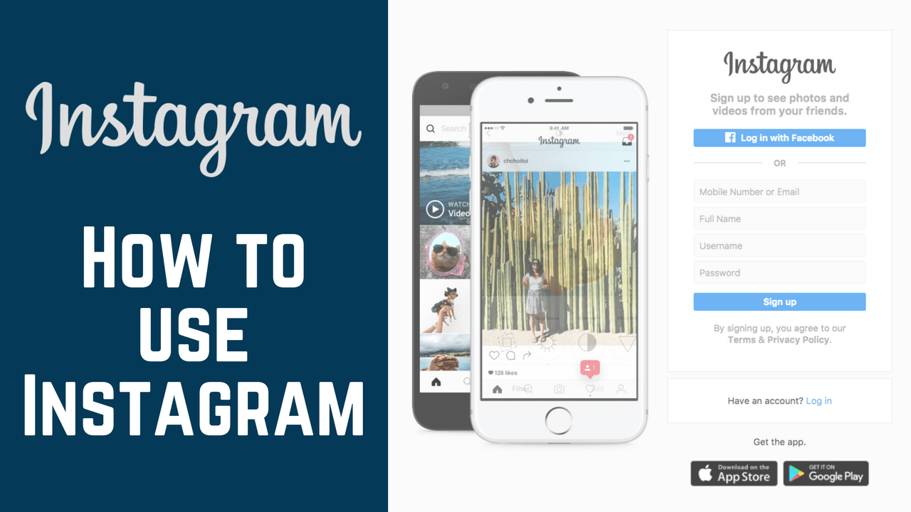How to Use Instagram Course: Free Tutorials for Online Image Sharing