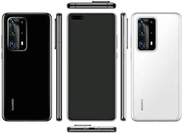 Fotos do novo Huawei P40 vazam na internet