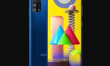 Samsung Galaxy M31 chega com bateria de 6.000 mAh