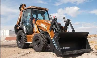 Zeus 580 EV elétrico da CASE