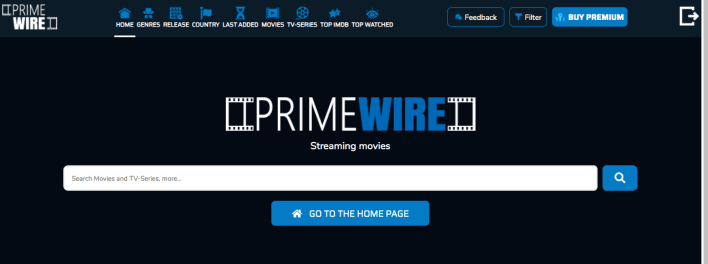New Primewire site