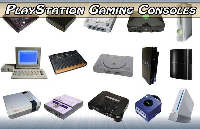 https://www.evolution of playstation gaming consoles